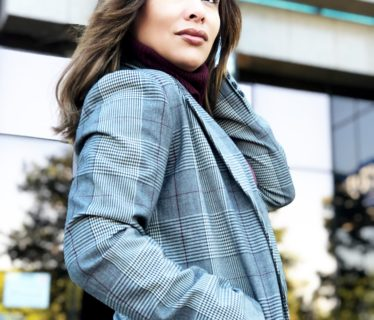 The Boyfriend Plaid Blazer