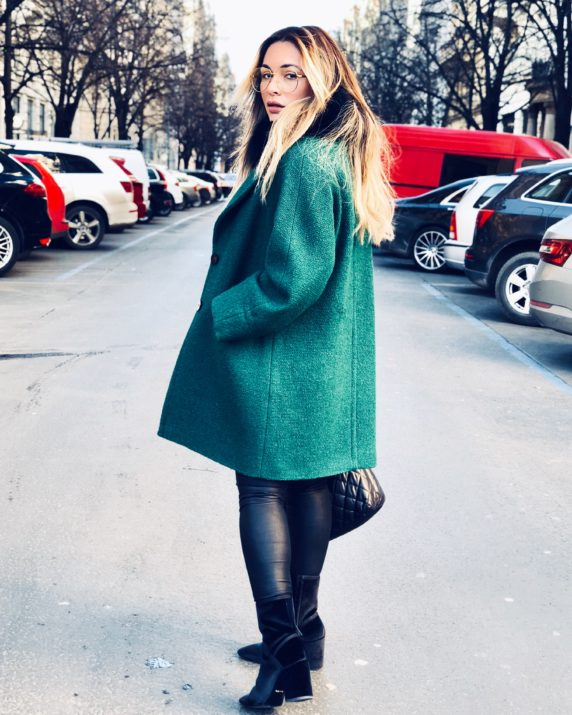spring trends green