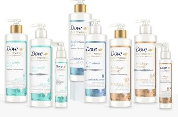 dove hair care therapy lizostyle